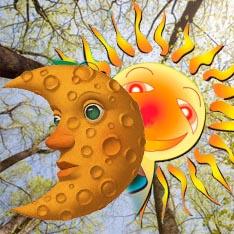 День весеннего равноденствия - 21 марта.