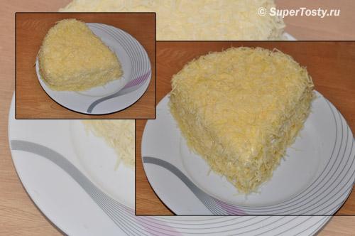 Фото. Салат Мышки с сыром. Рецепт с фотографиями.
