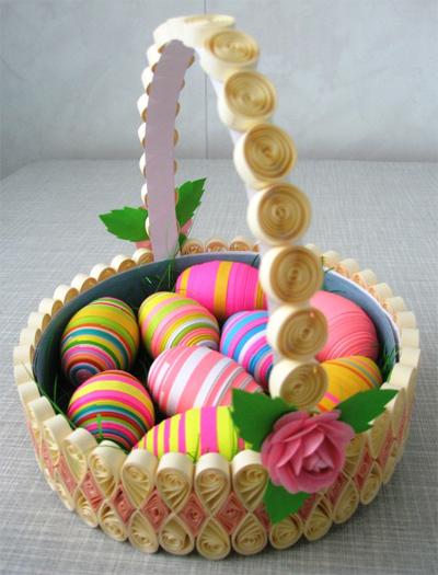 Корзиночки для пасхальных яиц