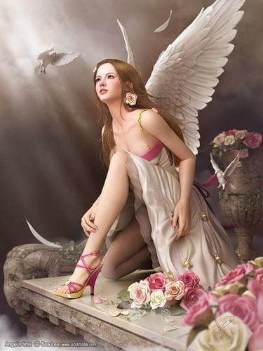 Открытки с днем ангела
