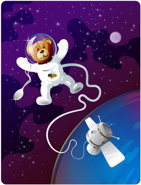 Поздравления с днем рождения от космонавтов