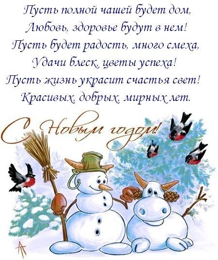Пошлые новогодние поздравления