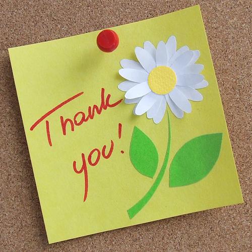 Thank you! - открытка