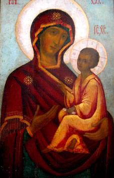 Явление Тихвинской иконы Божией Матери - 9 июля.