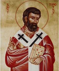 Святой апостол Тимофей - 4 февраля.