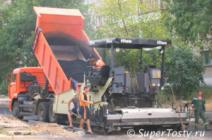 День работников дорожного хозяйства - третье воскресенье октября. фото дорожные работы